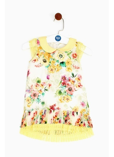 Lia Lea Lia Lea Kız Bebek Çiçekli Elbise 19SSLLB0174 Renkli